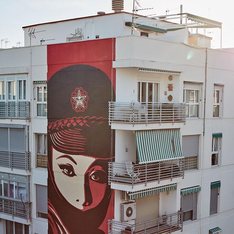 Conoce el arte urbano en La Fábrica