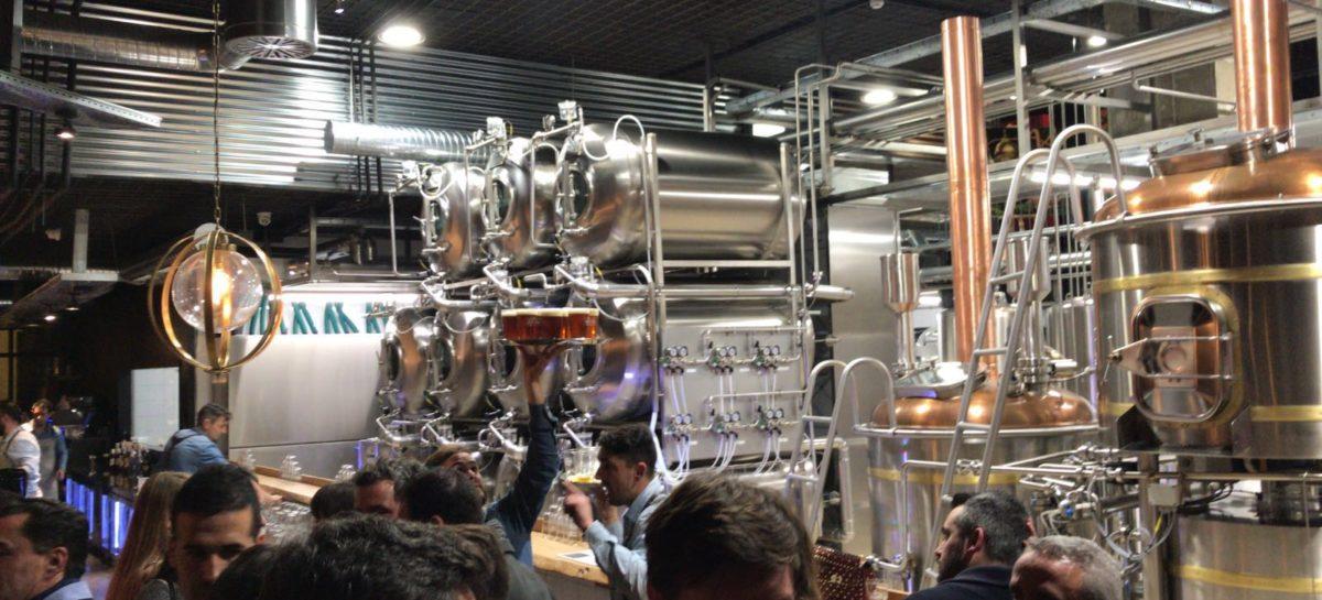 La Fábrica de cerveza del Soho de Málaga en su inauguración