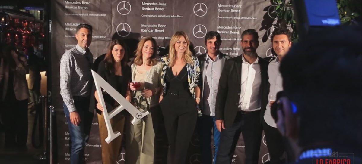 Presentación del nuevo Mercedes Clase A en La Fábrica