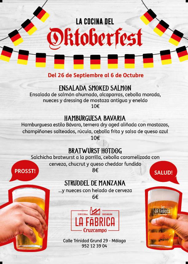 Oktoberfest en La Fábrica Cruzcampo